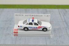 Busch 49011 Ford Crown Victoria Washington Metropolitan Police HO Scale -1:87