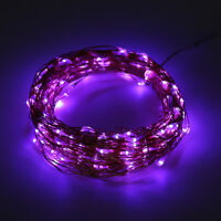 6/10/15/20m Solar Powered Warm White Copper Wire Outdoor String Fairy Light DG&@