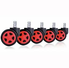GT Racing Gaming Chair Spare Parts - Wheel (Set of 5)