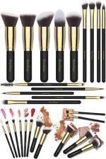 As Morphe Set Premium Silky Soft Makeup Travel Set Art Brush Sponge 14Pcs Kabuki
