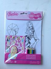 Barbie Colouring Set
