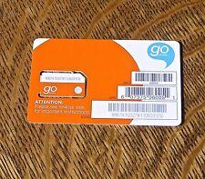 At&T GoPhone Sim Card ~ Brand New ~ Sku 6006A 3G/4G ~ Standard Sim At&T