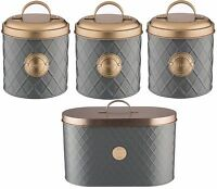 Typhoon Copper Lid Tea Coffee Sugar Canister Bread Bin Bread Crock