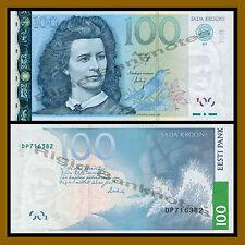 Estonia 100 Krooni, 2007 P-88 Unc