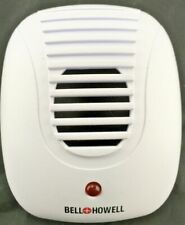 Bell and Howell 50167 Direct Plug In Ultrasonic Pest Repeller for Indoors WHITE
