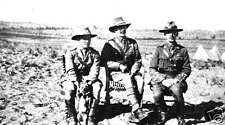 """New Zealand Army Officers Auckland Mounted Rifles 1918 World War 1 6x4"""" Photo 2"""