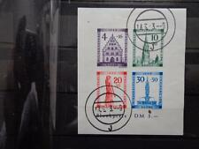 Germany Allied Occup French Zone Sheet 1B Imperforated Used