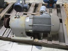 U.S. Motors Unimount 125 AC Motor w/Syncro gear Module UTP/GDP 5HP 1745RPM Used