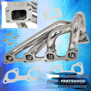 For 74-93 Volvo 240 2.3L SOHC T3 Flange Turbo Exhaust Manifold Gaskets 940/740