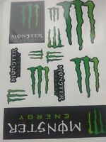 Monster Energy 12 Decals ATV Bike  Scateboard Aufkleber / Stickers