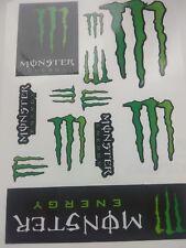Monster Energy 12 Decals ATV Bike  Scateboard Aufkleber / Stickers