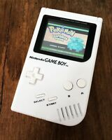 Nintendo Gameboy Original Handheld Console Game Boy DMG102 White BACKLIT DS Lite
