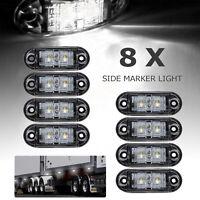 Feux Latéraux de Position LED Pour Camion,Camionnette,Caravane,Voiture 12V/24V