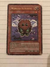 Winged Kuriboh Ultimate Rare Wear On Card