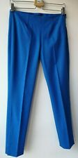 Theory Trousers Size 2 UK8/10 W28 L29 blue mid rise career casual