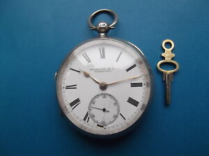 Solid Silver Pocket Watch Skarratt & Co Circa 1883