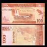 Sri Lanka Banknotes 100 Rupees P-125, UNC, 2015-2018