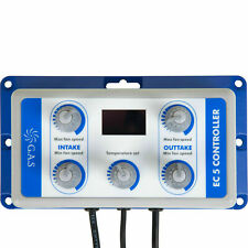GAS EC5 Thermostatic Digital Fan Speed Controller and Balancer Unit