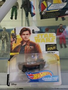 Star Wars Hans Solo first appearance Hot Wheels/Mattel/Disney collectibles/new