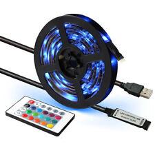 3m LED Strip Light 5050 RGB 60 LEDs/m IP65 TV BackLight 24key Remote USB DC 5V