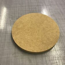 300mm MDF wood circle 9mm thick.- Crafts - hobby - wood working cnc cut blank