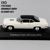 1/43 IXO CHEVROLET CHEVY SS COUPE(1971) Diecast Car Model Rare Collection