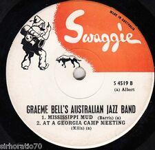 GRAEME BELL'S AUSTRALIAN JAZZ BAND Swaggie EP