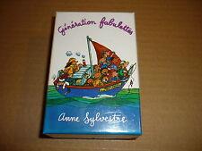 *ANNE SYLVESTRE K7 AUDIO GENERATION FABULETTES COFFRET DE K7