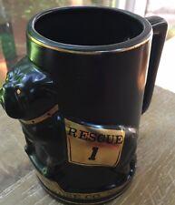 Vintage Eagle Hose Co Little Falls NJ Heavy Mack Rescue Fire Bulldog Mug Stein