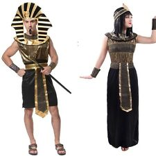 USA Seller Couple Adult Pharaoh Egyptian Pyramid King Ancient Egypt Costume Robe