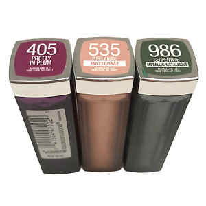 Maybelline Color Sensational Lipstick, 0.15oz, Choose from 3 Shades