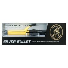 Silver Bullet Fastlane Gold Ceramic 32mm Curling Iron Silverbullet Free Postage