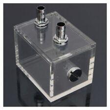 nuevo bloque agua pc cpu radiador refrigeracion agua acrilico 200ml transparM7W5
