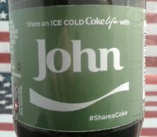 Share A Coke Life With John 2017 Limited Edition Green Label Coca Cola Bottle