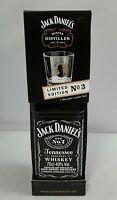 (EUR 100,00/L) Jack Daniels 0,7 L mit Glas Master Distiller No 3 Lem Tolley