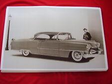 1955  CADILLAC  COUPE DE VILLE  62 SERIES 11 X 17   PHOTO   PICTURE