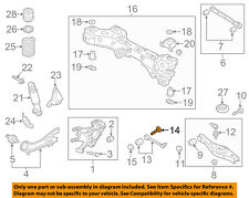 KIA OEM 14-15 Sorento Rear Suspension-Lateral Arm Adjust Bolt 552602W000