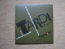 "TARDI . POCHETTE ""LA VERITABLE HISTOIRE DU SOLDAT INCONNU"" FUTUROPOLIS (2005) SP"