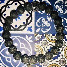 Chakra Balance Natural Lava Stone Bracelet