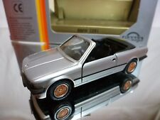 GAMA MINI 1110 BMW 325i CABRIOLET E30 - SILVER 1:43 - GOOD CONDITION IN BOX
