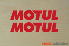 PEGATINA STICKER VINILO Motul oil motorbike aufkleber autocollant