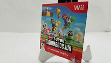 New Super Mario Bros. Wii (Nintendo Wii, 2009) *Disc and Sleeve ONLY*