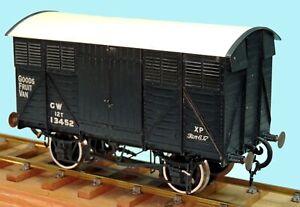 Gauge 1 [1/32 scale] Fruit Van, professionally built