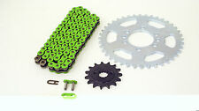 2004 2005 2006 Kawasaki KFX400 Green Chain and Sprocket 14/40