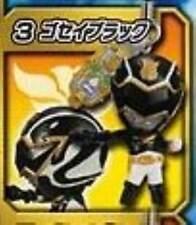 BANDAI Tensou Sentai Goseiger P 1 Phone Strap Mascot Figure Black