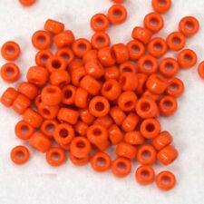 15/0 Opaque Orange Japanese Seed Bead (20 gm) #JBO004