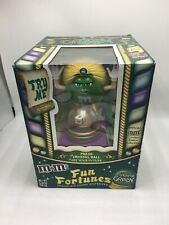 M & M's Fun Fortunes Green Candy Dispenser New. NO CANDY