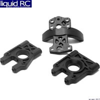 Losi A4420 Center Differential Mount & Brace Set: 8B 2.0