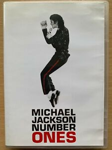 Michael Jackson Number Ones DVD Greatest Hits Pop Music Video Compilation
