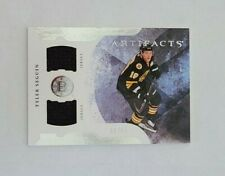 2011-12 UD Artifacts Tyler Seguin Boston Bruins 50/50 - Dual Jersey DAMAGED
